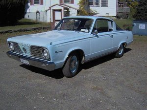 1966 Plymouth Barracuda 2DR