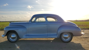 1946 Plymouth Special DeLuxe Club Coupe - RHD