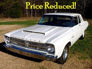 1965 Plymouth Belvedere  HEMI Auto Ivory Fresh Built $68.8k For Sale (picture 1 of 6)