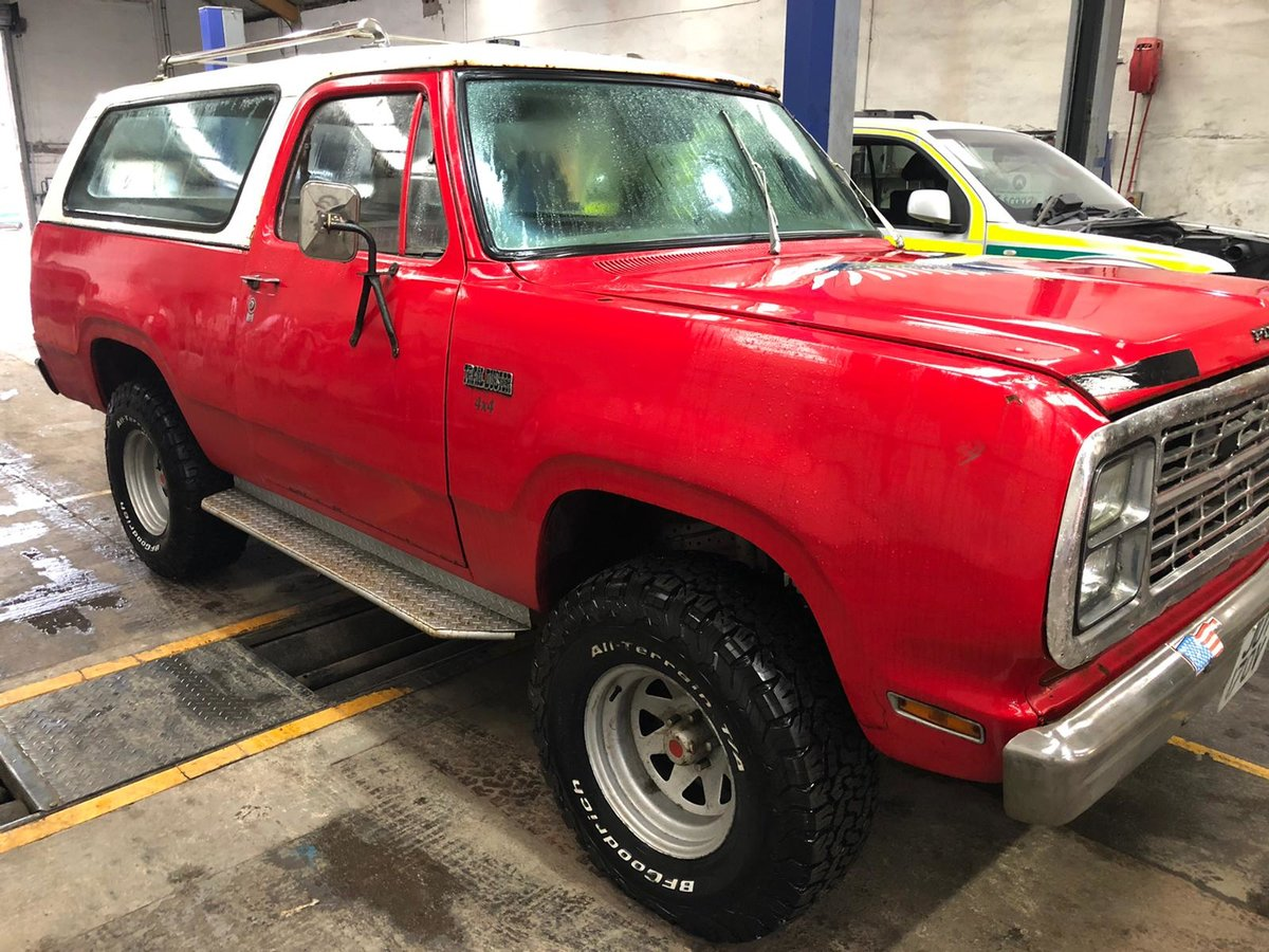 1979 Super Rare Plymouth Trailduster For Sale (picture 1 of 6)