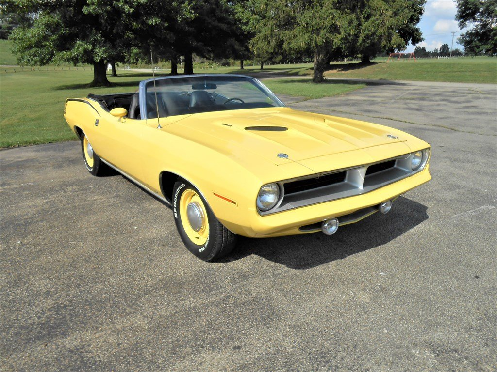 1970 Plymouth Cuda Convertible  For Sale by Auction (picture 1 of 6)