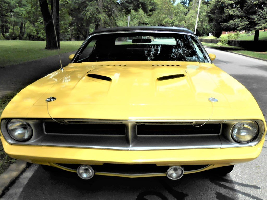 1970 Plymouth Cuda Convertible  For Sale by Auction (picture 6 of 6)