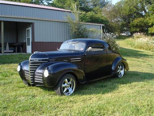 1939 Plymouth Business Coupe..Black For Sale (picture 1 of 6)