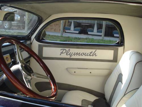 1939 Plymouth Business Coupe..Black For Sale (picture 4 of 6)