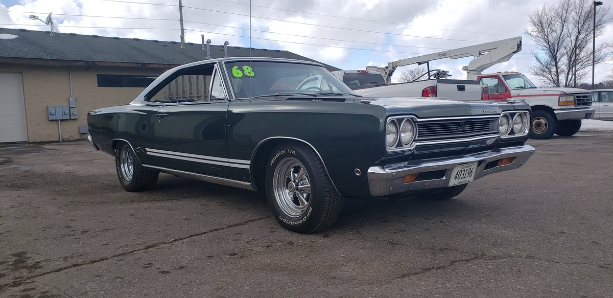 1968 Plymouth GTX 440ci Numbers Matching  For Sale (picture 2 of 6)