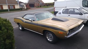 Plymouth barracuda 1972 340
