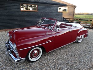 Plymouth Cranbrook 3.5 CONVERTIBLE CLUB COUPE