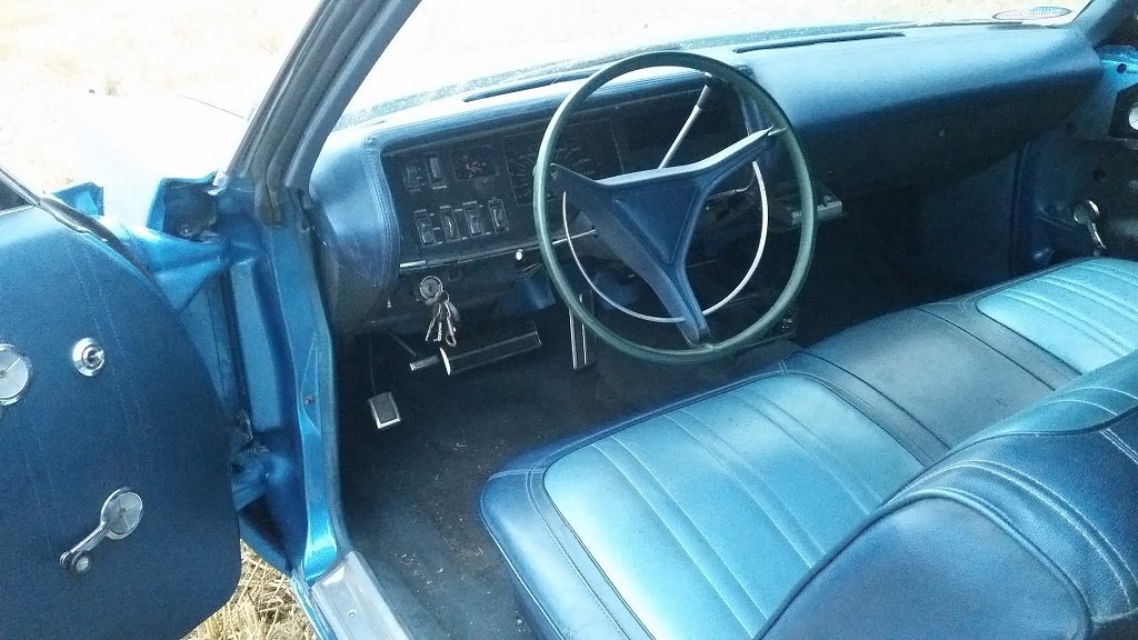 1969 Plymouth Fury III Convertible original blue. For Sale (picture 4 of 6)