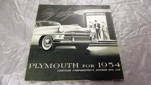0000 PLYMOUTH ORIGINAL FACTORY SALES BROCHURES