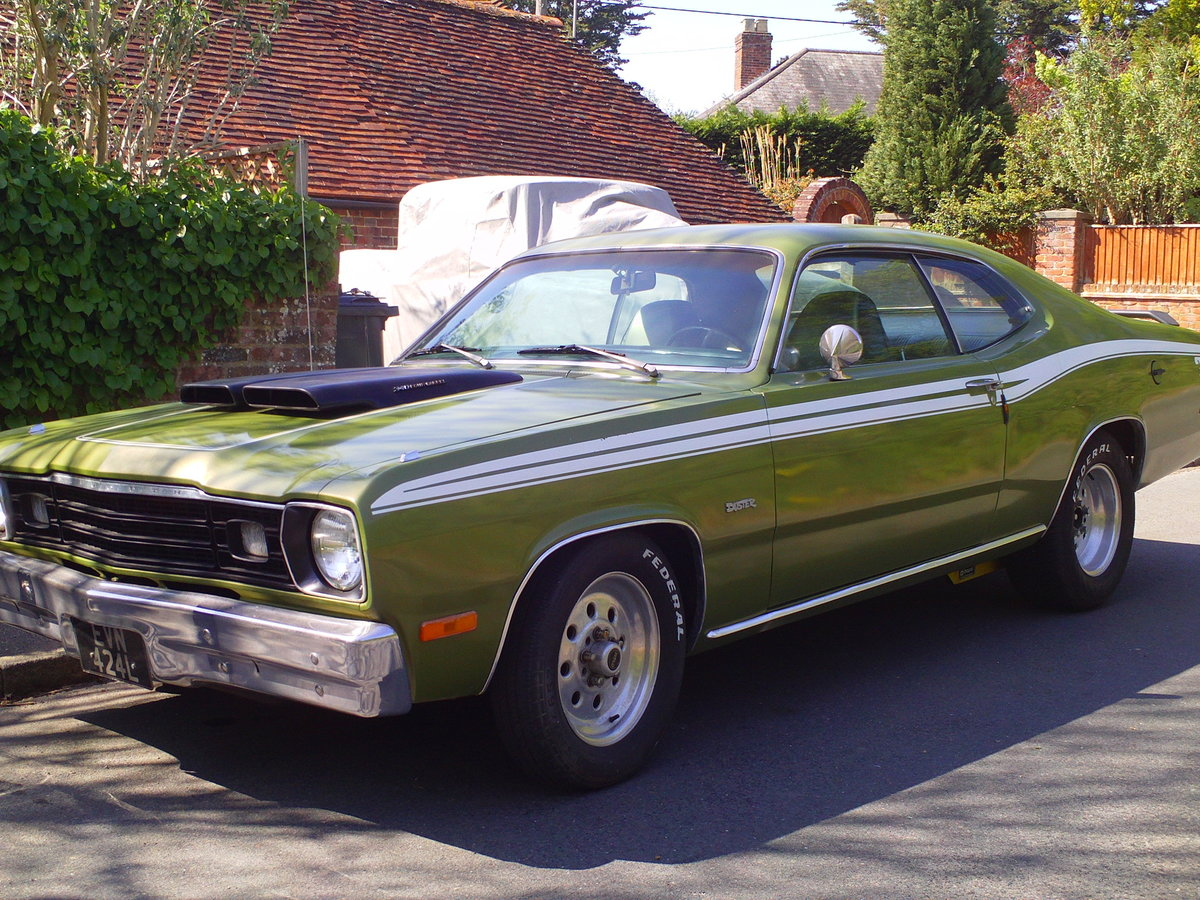 1973 PLYMOUTH DUSTER V8 SOLD (picture 1 of 6)
