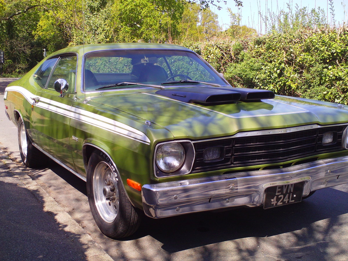 1973 PLYMOUTH DUSTER V8 SOLD (picture 3 of 6)
