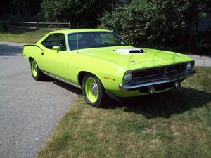 1970  Plymouth Hemi Cuda (Burlington, MA) $400,000 obo