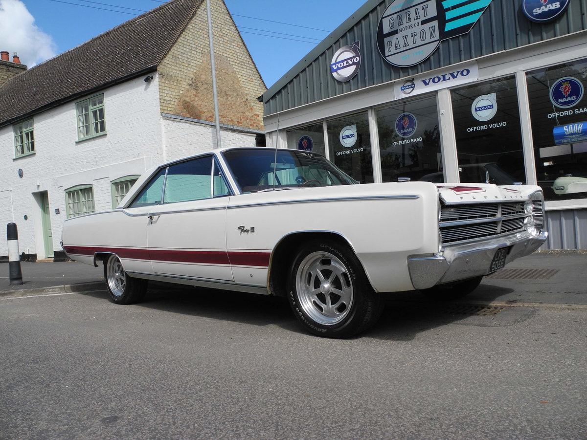 1967 PLYMOUTH FURY3 COUPE SOLD (picture 1 of 6)
