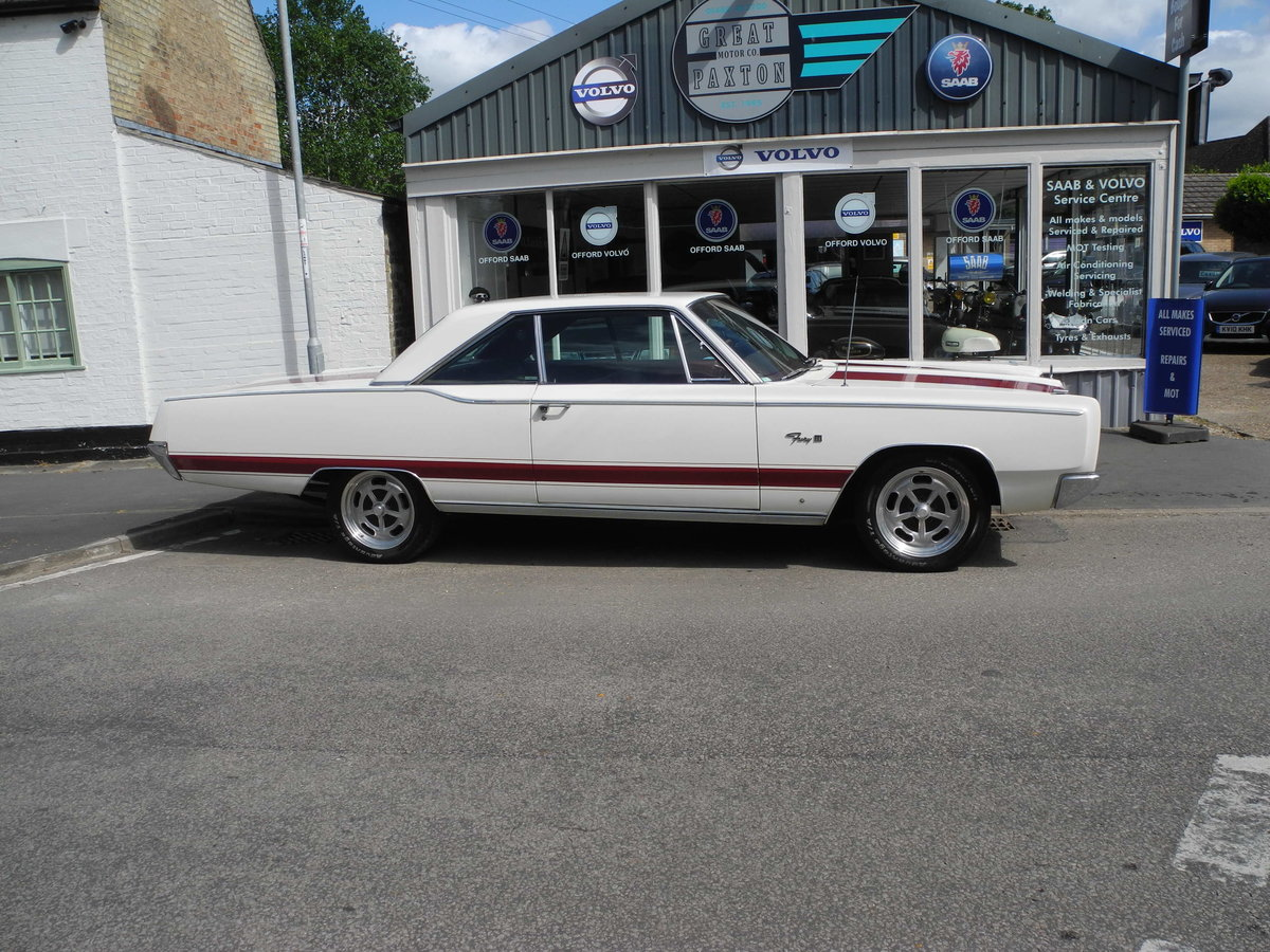 1967 PLYMOUTH FURY3 COUPE SOLD (picture 6 of 6)