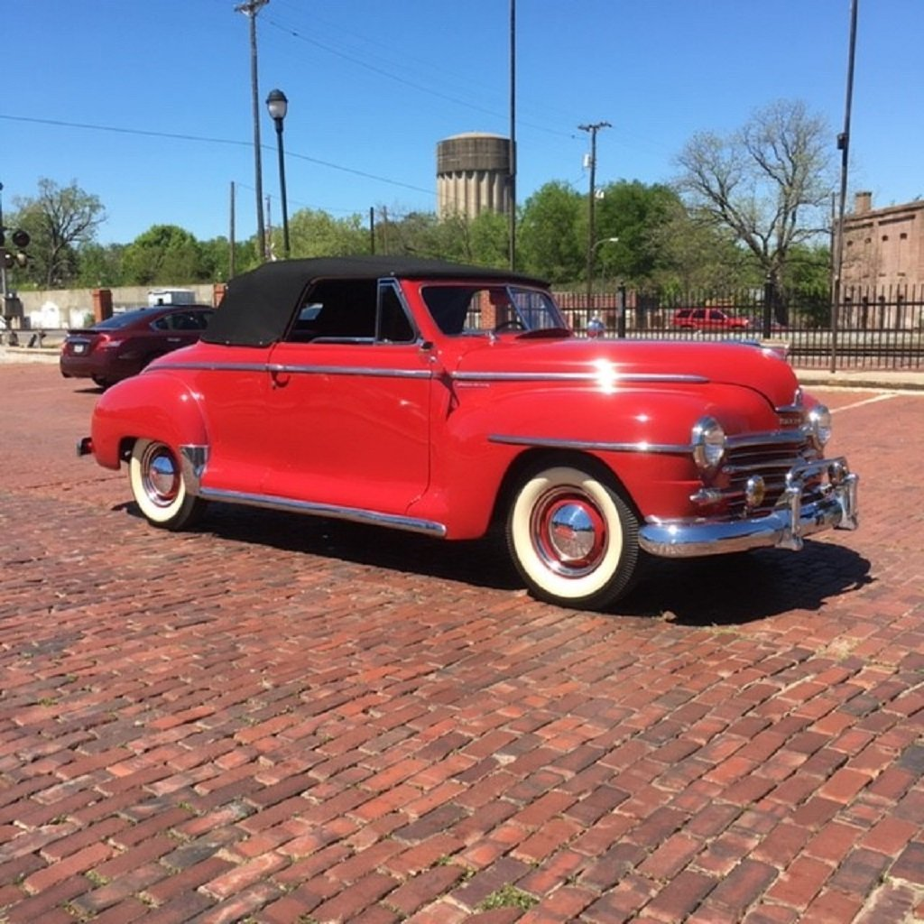 1947 Plymouth Convertible For Sale (picture 1 of 6)