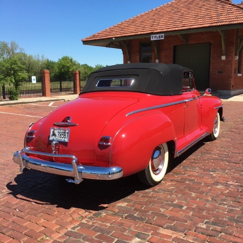 1947 Plymouth Convertible For Sale (picture 5 of 6)