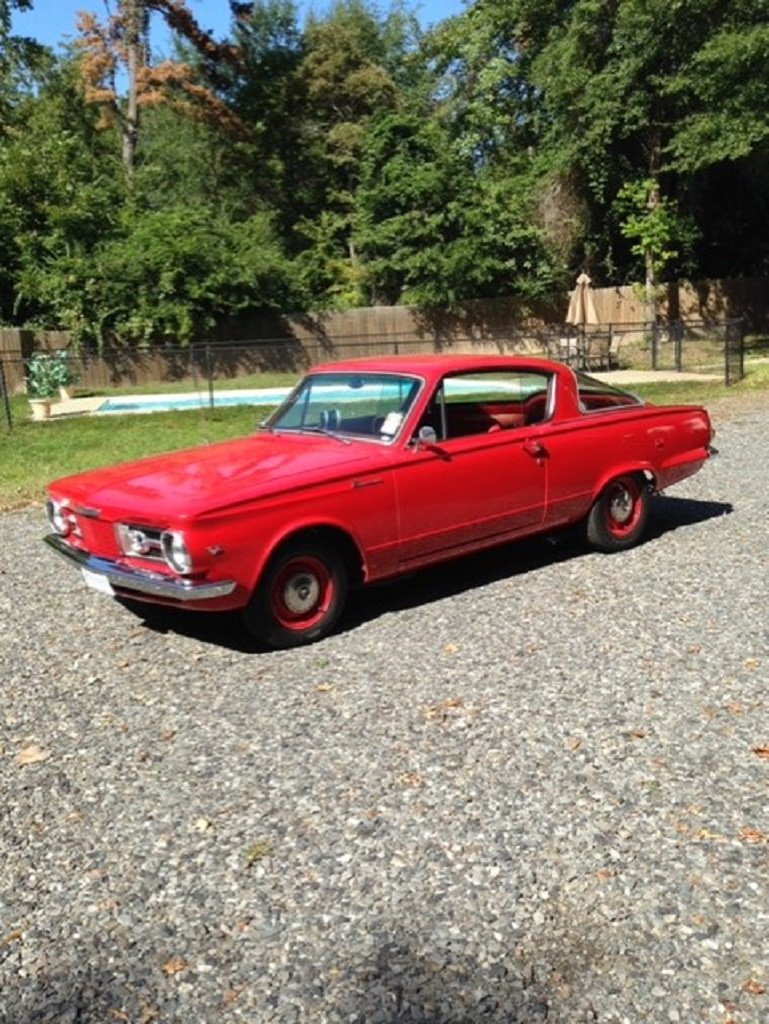 1965 Plymouth Barracuda For Sale (picture 1 of 6)