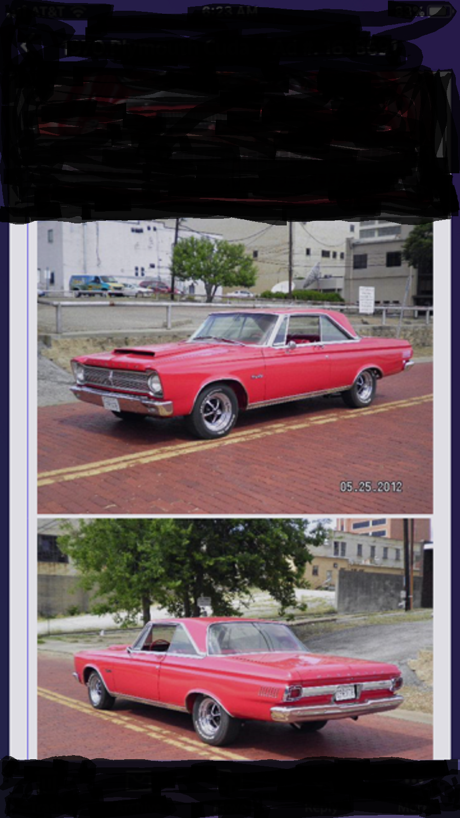 1965 Plymouth Satellite For Sale (picture 1 of 3)