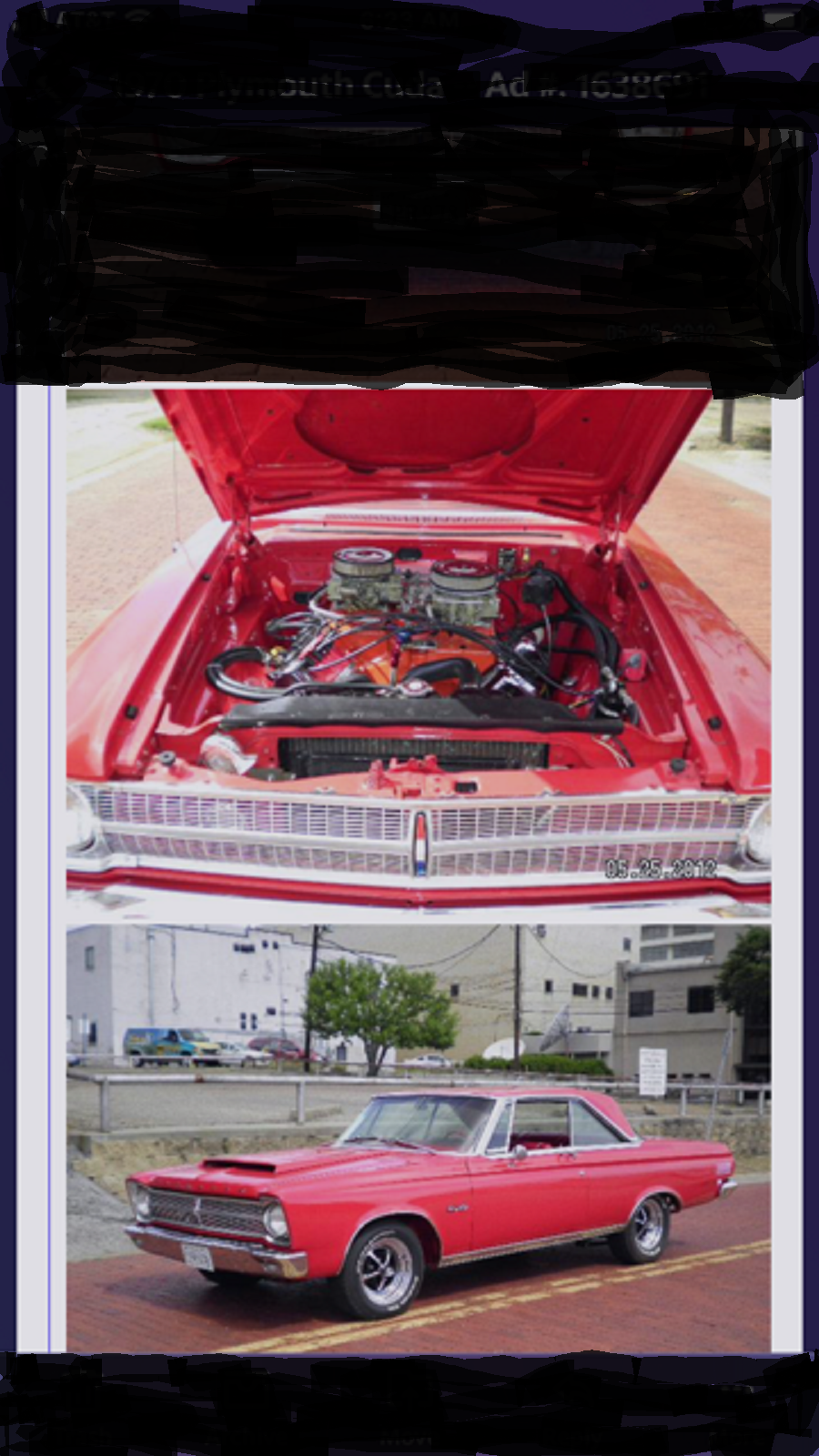 1965 Plymouth Satellite For Sale (picture 3 of 3)