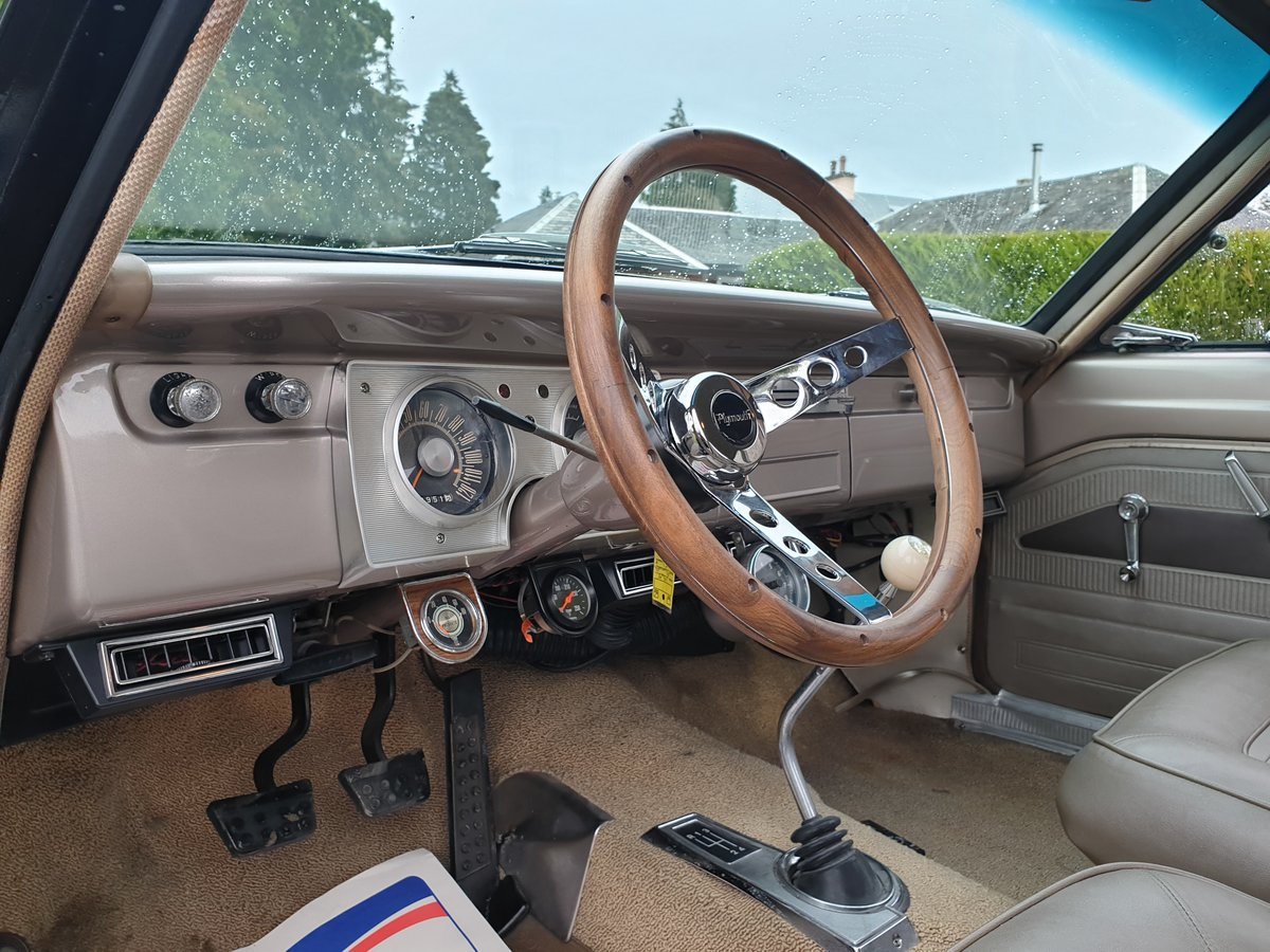 1965 Plymouth valiant commando v8 For Sale (picture 4 of 6)