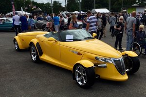 2002 Plymouth Prowler with trailer V Low Milage