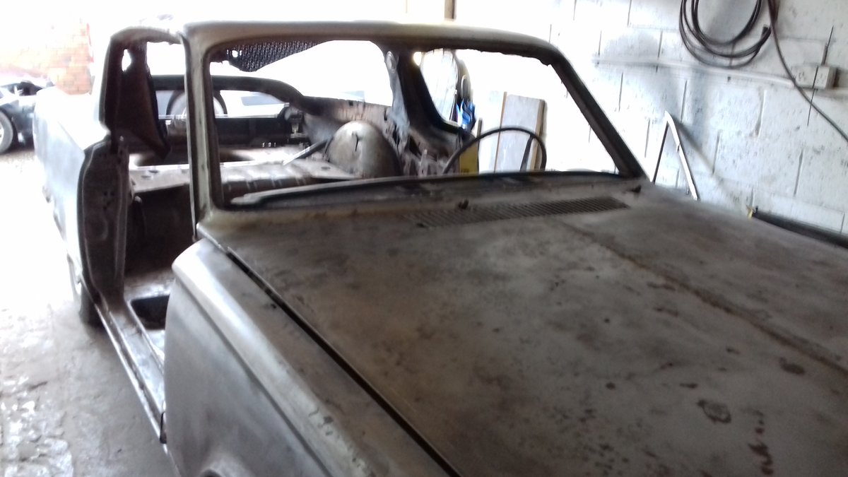 1966 Plymouth barracuda model s fastback 4.5l v8 For Sale (picture 1 of 6)