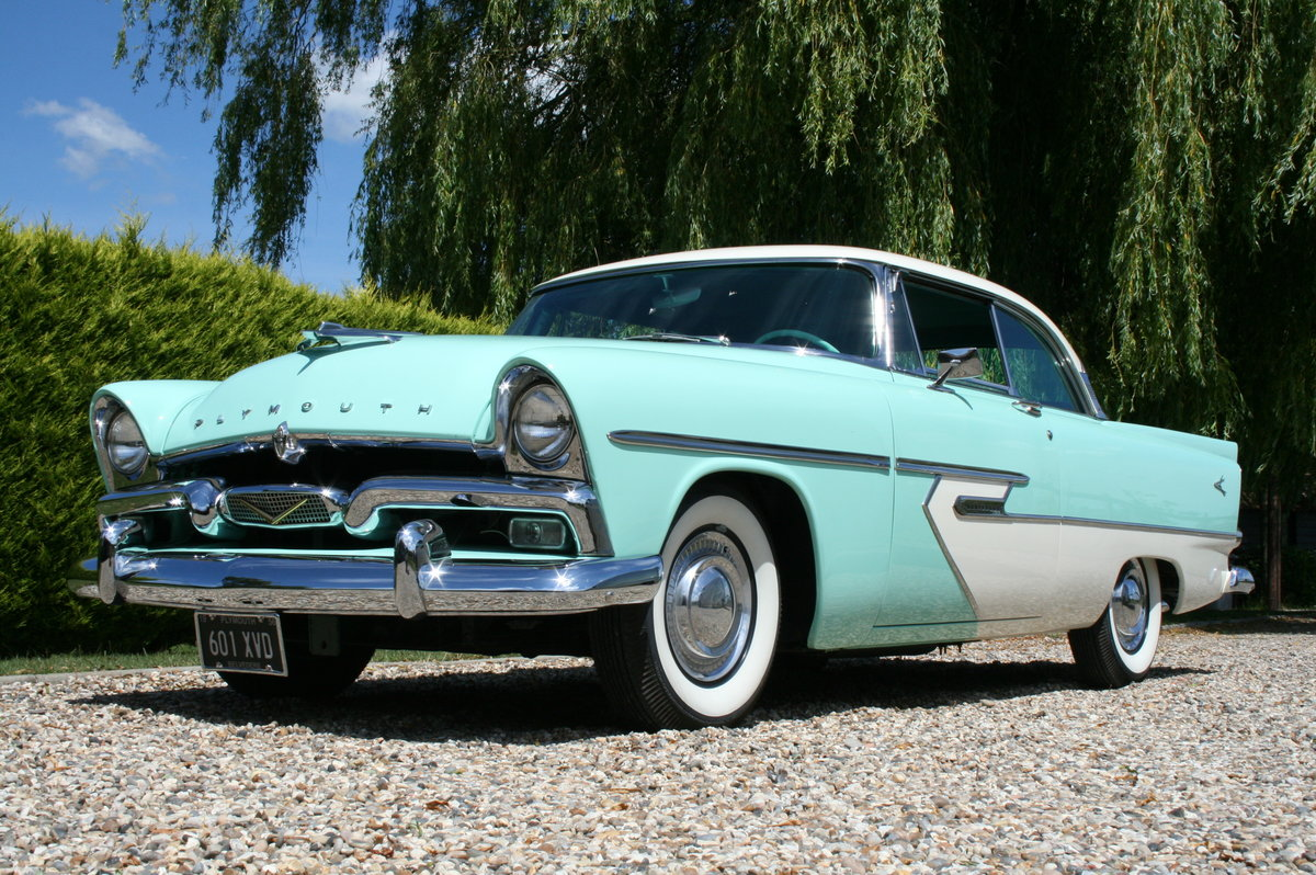 1956 Plymouth Belvedere 2 door V8 277 Auto. Stunning Example For Sale (picture 1 of 6)
