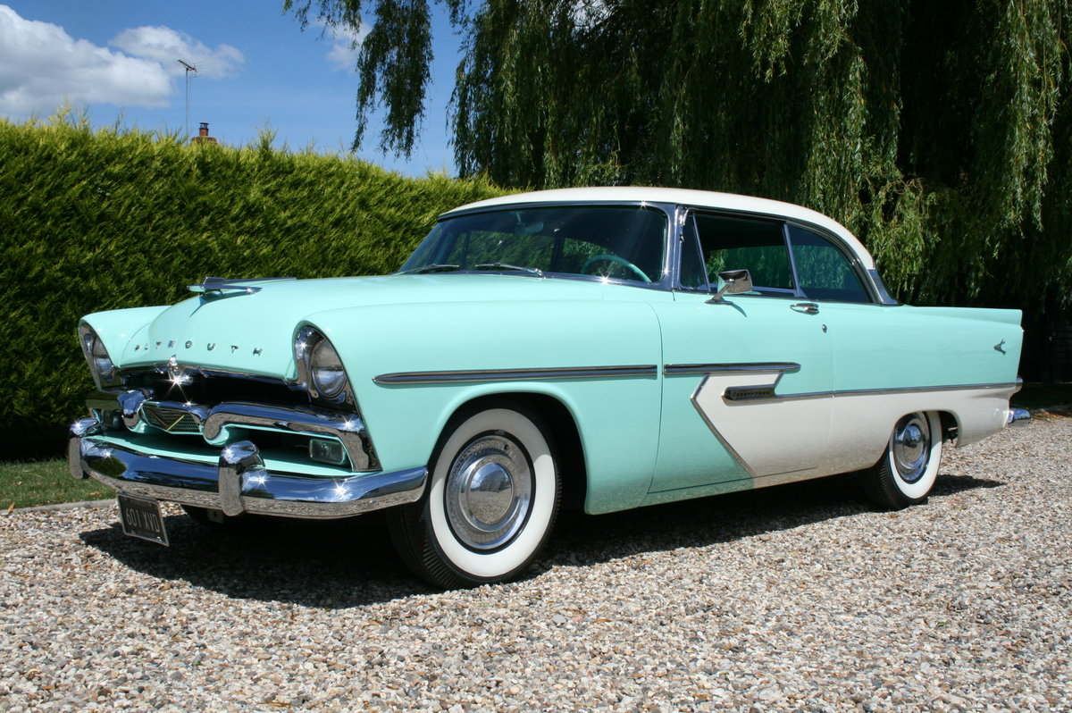 1956 Plymouth Belvedere 2 door V8 277 Auto. Stunning Example For Sale (picture 4 of 6)