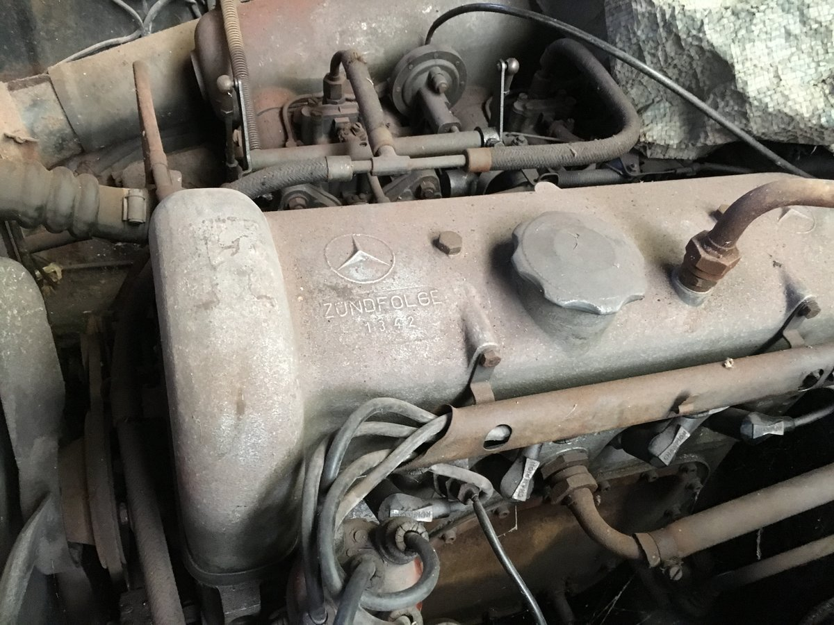 1958 Mercedes Benz RHD 90sl Barn Find  For Sale (picture 1 of 6)