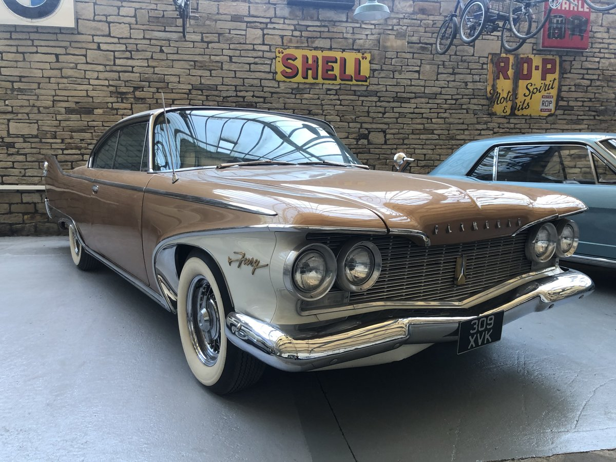 1960 Plymouth Fury Pillarless Coupe For Sale (picture 1 of 6)