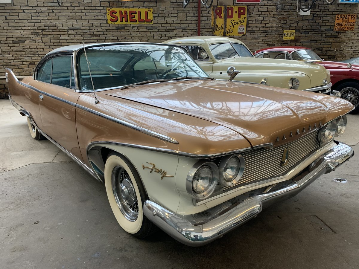 1960 Plymouth Fury Pillarless Coupe For Sale (picture 6 of 6)