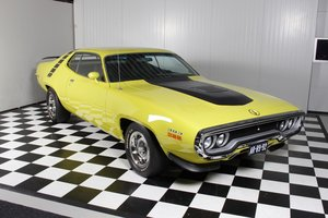1971 71' Plymouth Roadrunner restored airgrabber matching !