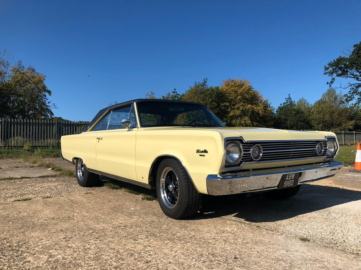 1966 Plymouth Satellite 440 Auto . Classic Mopar Muscle  For Sale (picture 1 of 6)