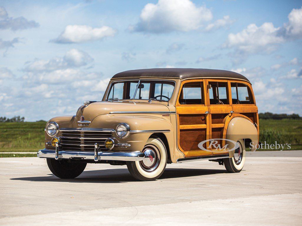 1948 Plymouth Special DeLuxe Six Station Wagon  For Sale by Auction (picture 1 of 6)