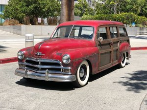 "1950  PLYMOUTH SPECIAL DE LUXE STATION WAGON ""WOODIE"""