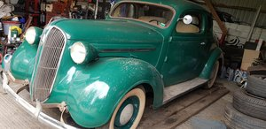 1937 Rare Stock Plymouth 5 Window Coupe LHD £14,750