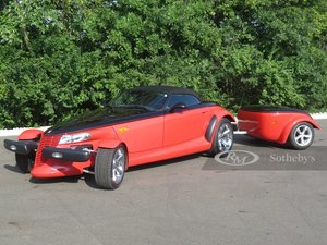 Picture of 2000 Plymouth Prowler Woodward Edition with Trailer RedBlk