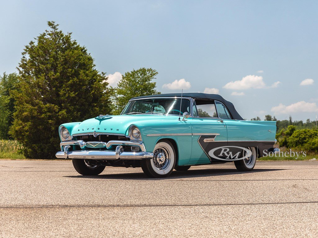 1956 Plymouth Belvedere Convertible  For Sale by Auction (picture 1 of 6)