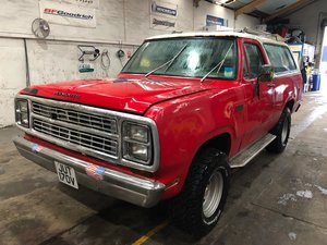 Picture of 1979 Super Rare Plymouth Trailduster 4x4