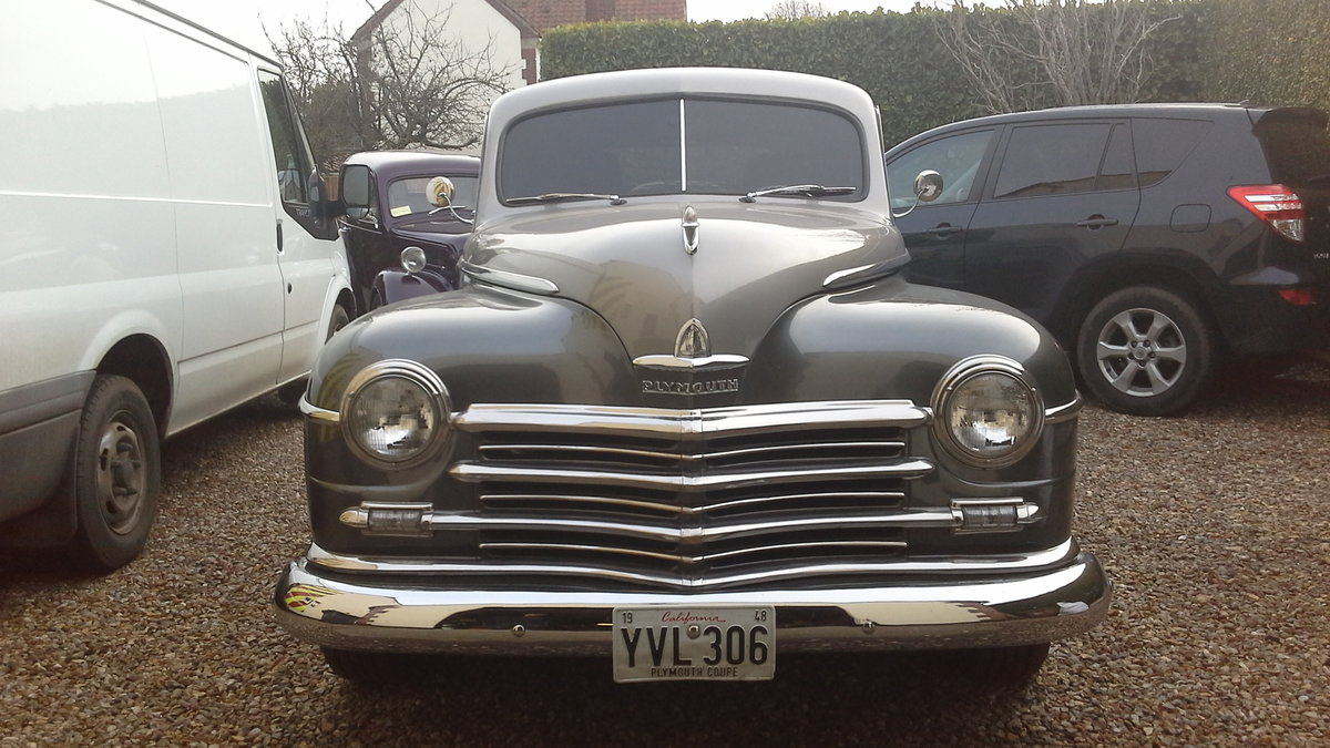1948 Plymouth business coupe sold. sold. For Sale (picture 6 of 6)