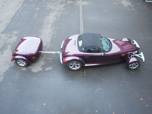 Picture of 1999 PLYMOUTH PROWLER WITH TRAILER VERY RARE!!! For Sale
