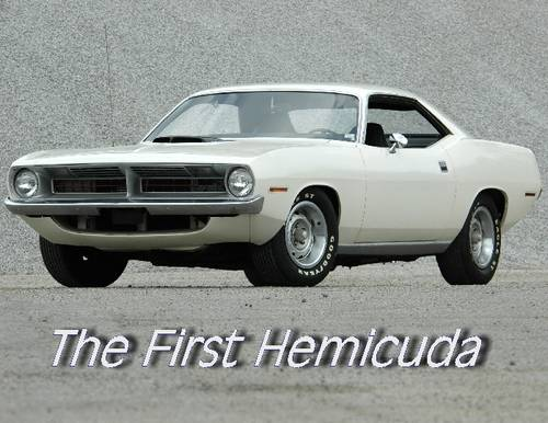 1970 Plymouth Cuda 426 Hemi For Sale (picture 1 of 6)