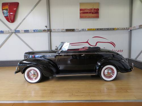 1939 Plymouth P8 Deluxe Convertible Coupé With Rumble Seat For Sale (picture 2 of 6)