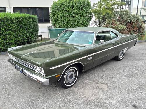 1969 Plymounth - Fury 3 Coupe UNIQUE IN ITALY SOLD (picture 1 of 6)