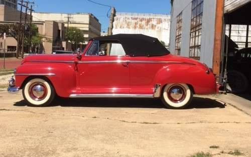 1947 Plymouth Convertible For Sale (picture 2 of 6)