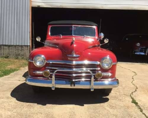 1947 Plymouth Convertible For Sale (picture 4 of 6)