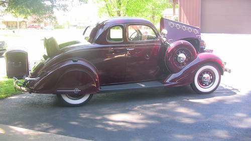 1935 Plymouth Deluxe Rumble Seat Coupe  For Sale (picture 1 of 6)