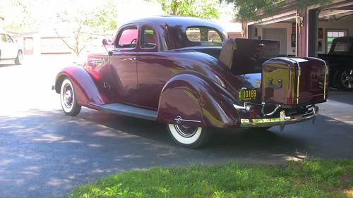 1935 Plymouth Deluxe Rumble Seat Coupe  For Sale (picture 2 of 6)