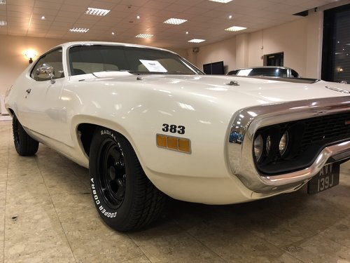 1971 Plymouth Satellite Sebring 383 -Big Block V8  SOLD (picture 4 of 6)