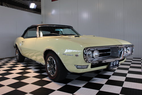 1968 68 Pontiac Firebird 400!, convertible, numb.match & restored For Sale (picture 1 of 6)